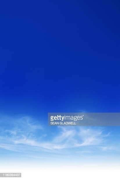 blue sky - 雰囲気 ストックフォトと画像