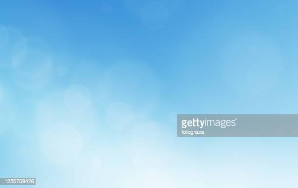 blue sky - blu chiaro foto e immagini stock