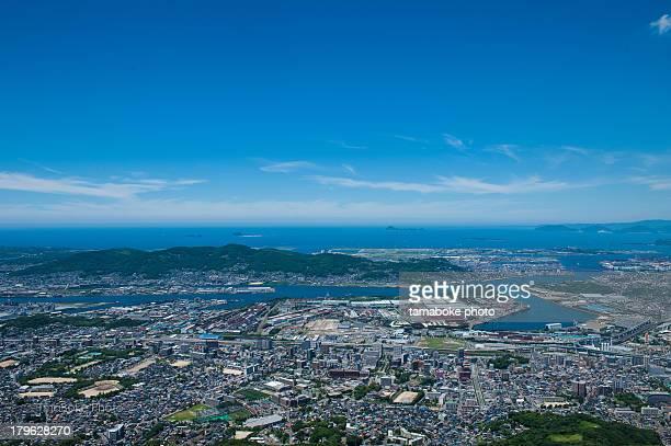 blue sky - 北九州市 ストックフォトと画像