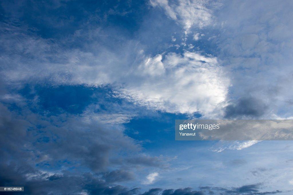 Blue Himmel  : Stock-Foto