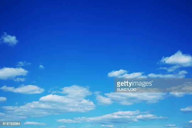 blue sky seen from tokyo sky - 青 ストックフォトと画像