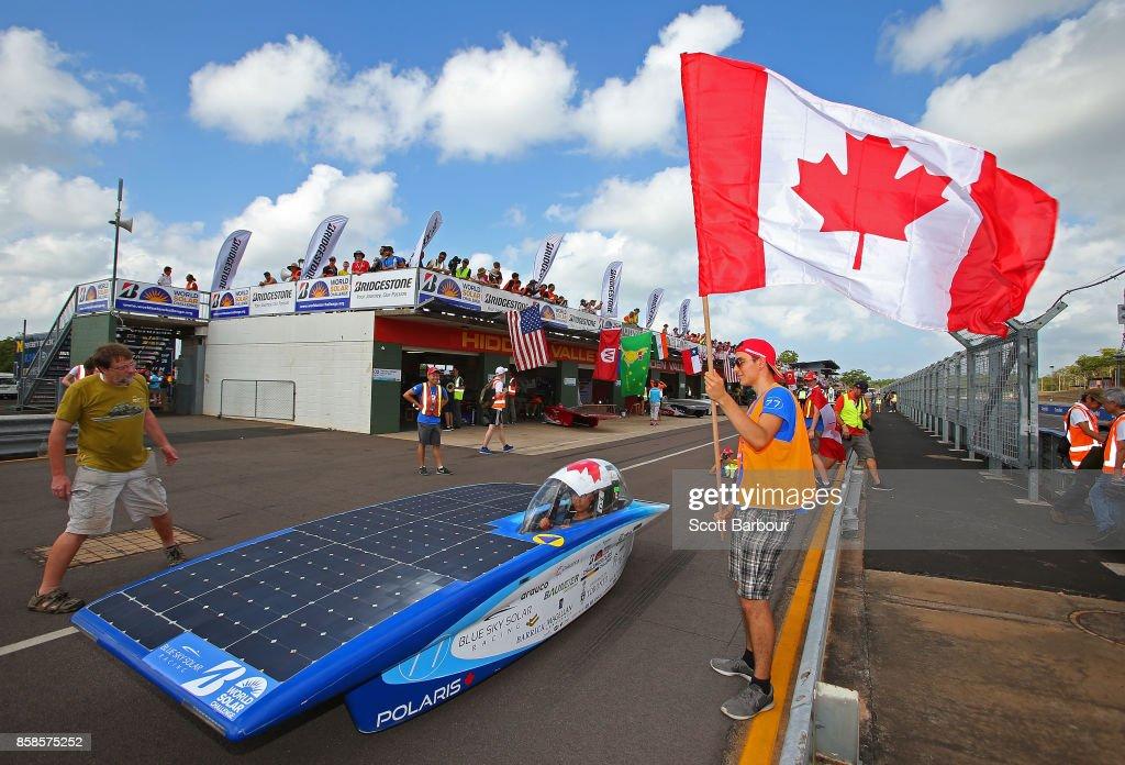 2017 Bridgestone World Solar Challenge - Dynamic Time Trials : News Photo