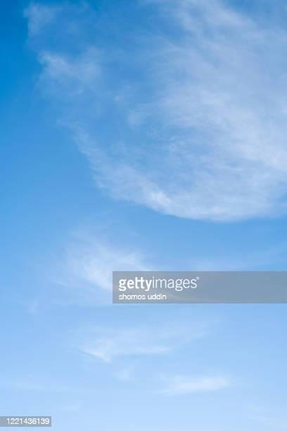 blue sky with white clouds - cloud sky stock pictures, royalty-free photos & images
