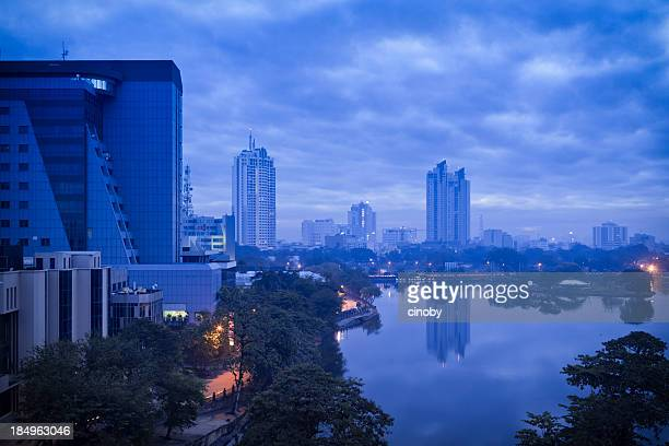 Blue Skyline of Colombo