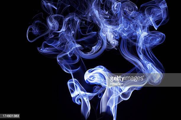 blue smoke - blues music stock pictures, royalty-free photos & images