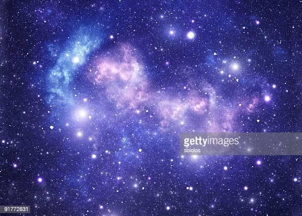 Blue space stars