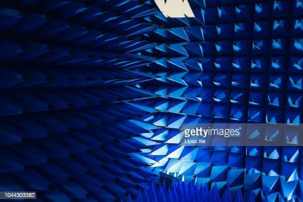 Blue spikes pattern