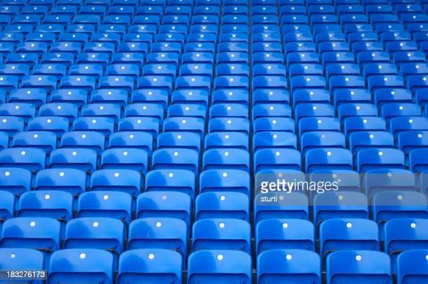 Blue Stadion-Bestuhlung