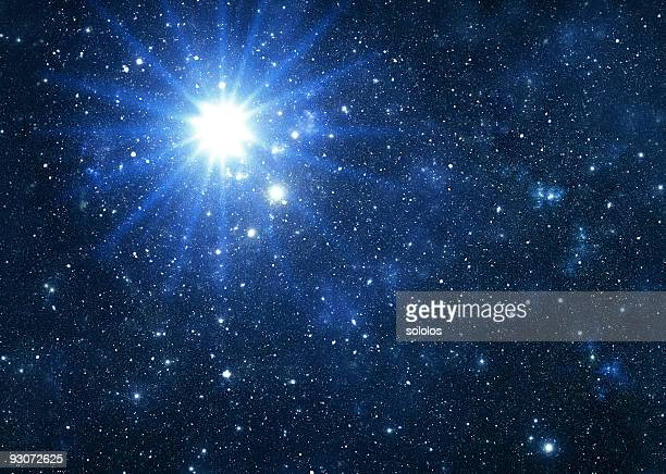 Blue star flare