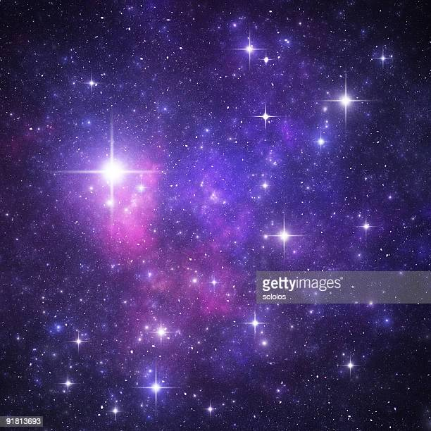 Blue starry heaven