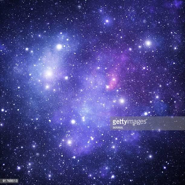 Blue stellar sky