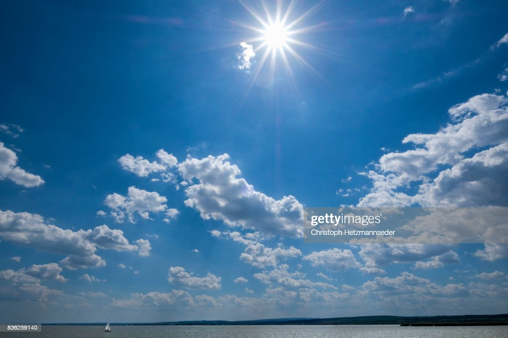 Blue summer sky : Foto de stock