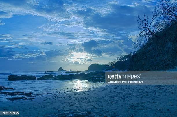 Blue Sunset Over the Sunset on Playa Maderas