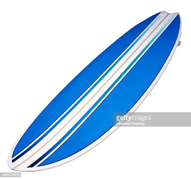 blue surfboard - surfboard stock pictures, royalty-free photos & images
