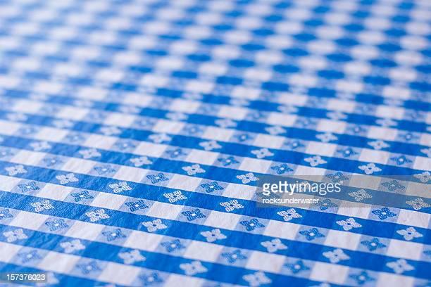Blue Table Cloth
