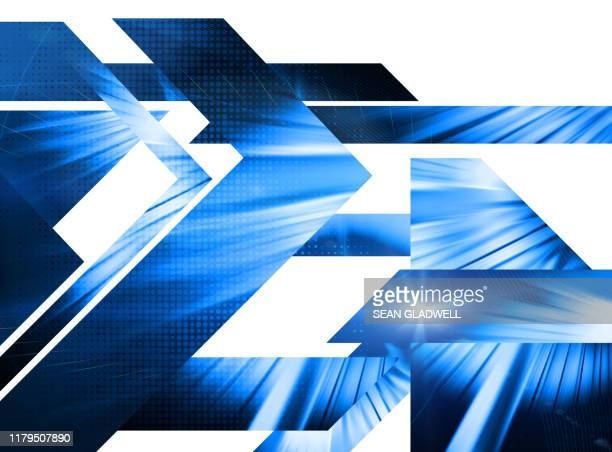 blue techno cover - graphic print stock pictures, royalty-free photos & images
