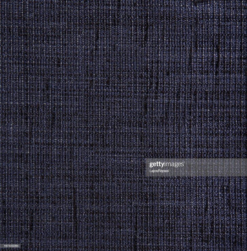 Blue textile fabric detail : Stock Photo