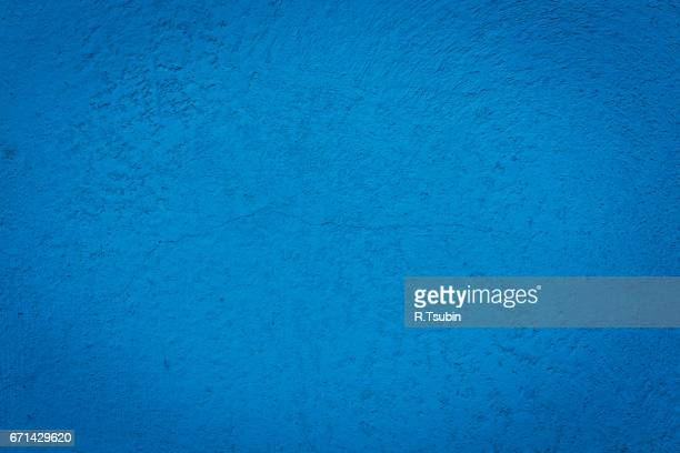 Blue texture wall