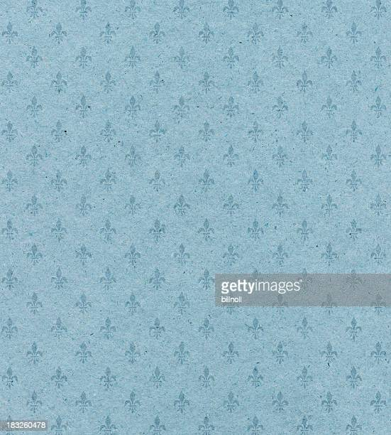 blue textured paper with symbol - franse cultuur stockfoto's en -beelden