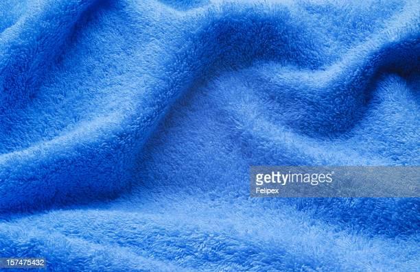 Toalha azul de
