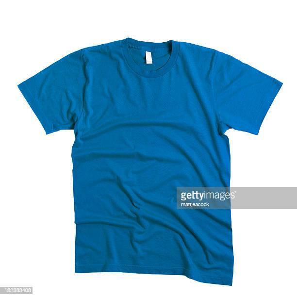 ブルー T シャツ
