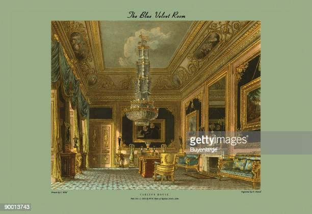 Blue Velvet Room Carlton House
