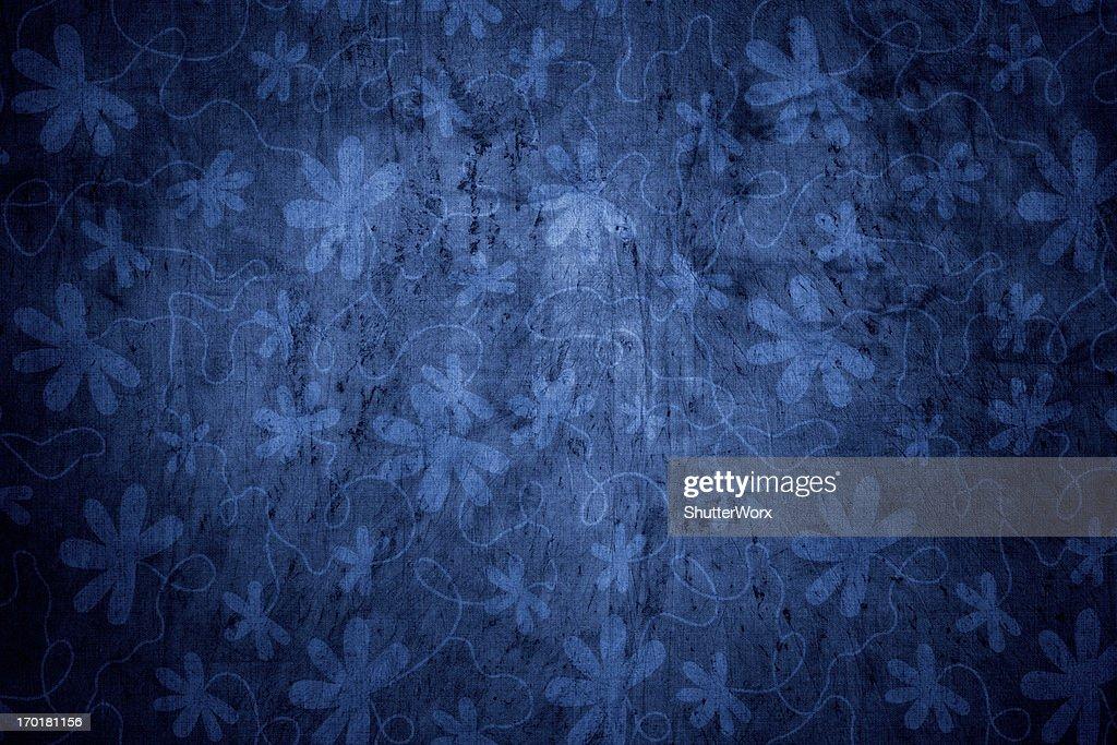 Blue Victorian Background : Stock Photo