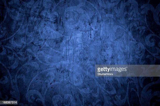 Sfondo Vintage blu