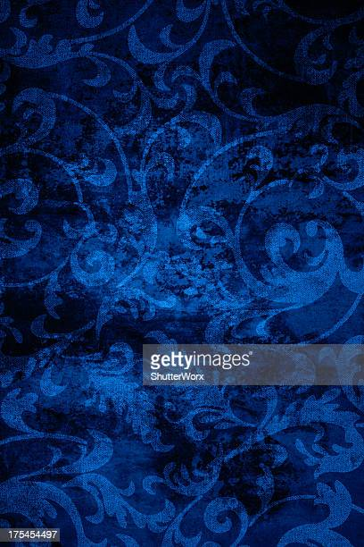 Blue Vintage Background