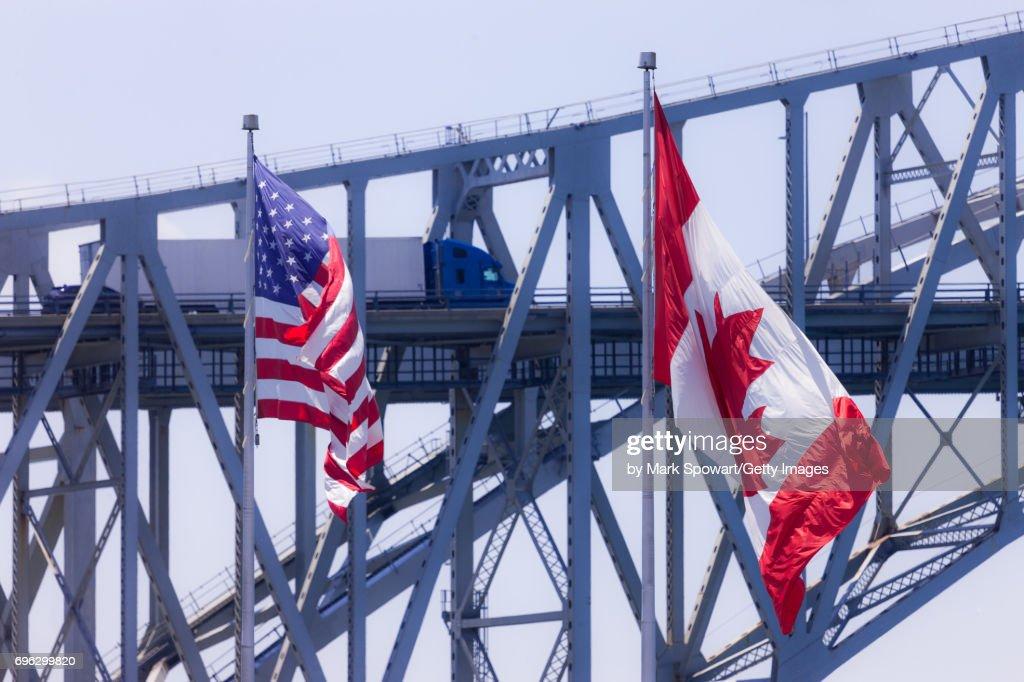 Blue Water Bridge : ストックフォト