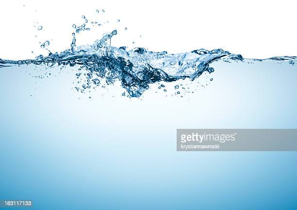 blue water surface - water stock pictures, royalty-free photos & images