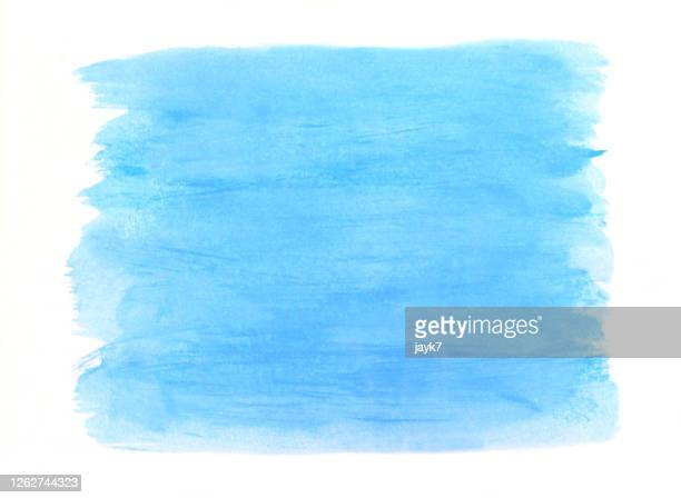 blue watercolor background - stroking stock pictures, royalty-free photos & images