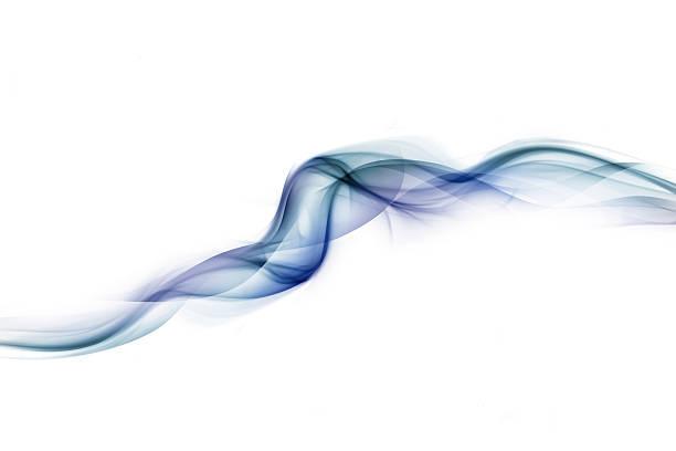 Blue Whisps Of Smoke Wall Art