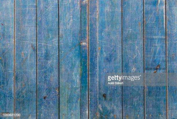 blue wood background - woodland stock pictures, royalty-free photos & images