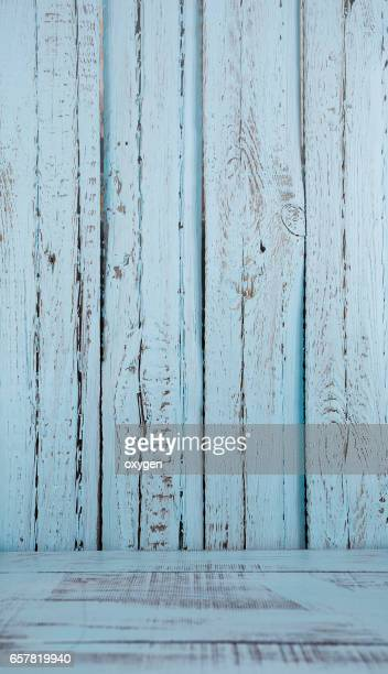 Blue wooden plank wall background