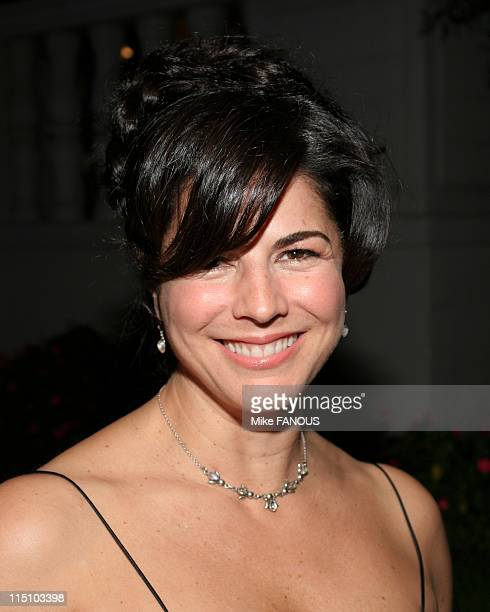 Blue Wrap Party in Los Angeles United States on February 12 2005 Justine Miceli arrives to the NYPD Blue wrap party at the Wilshire Ebell Theatre