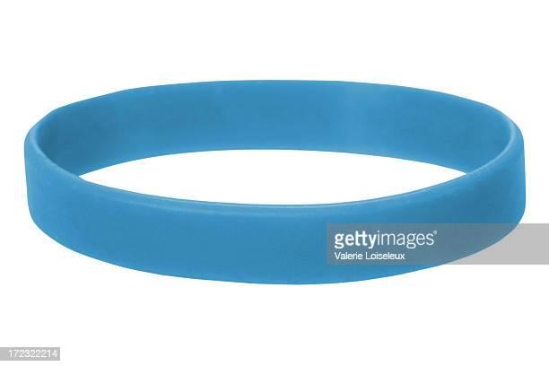 azul de muñequera - cinta deportiva del pelo fotografías e imágenes de stock