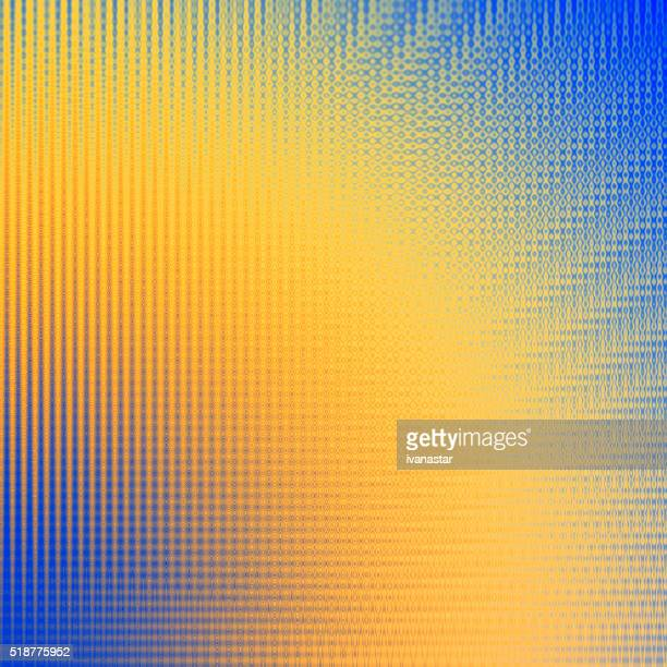 Blue Yellow Light Beam Abstract Background