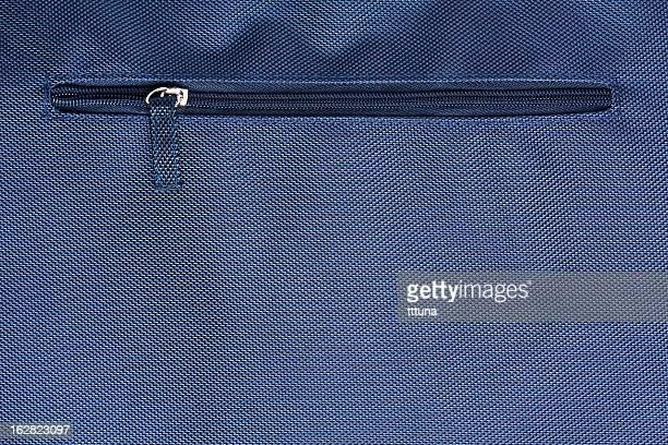 blue zipper, creative abstract design background photo