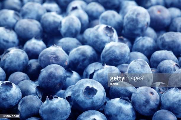 Blueberries Angled
