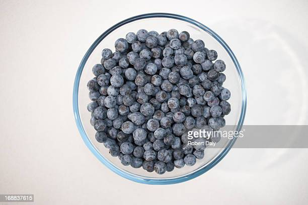 Blueberries in bowl