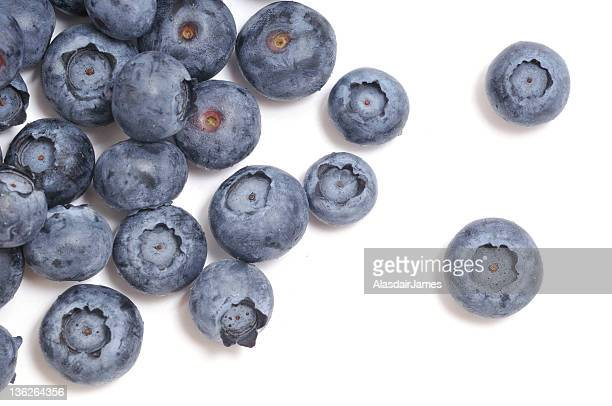 Blueberries Scattered