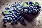 Blueberry antioxidant organic superfood