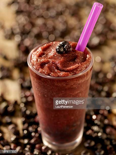 Blueberry Bubble Tea Smoothie