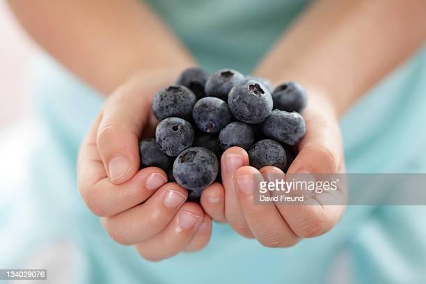 Blueberry Hands