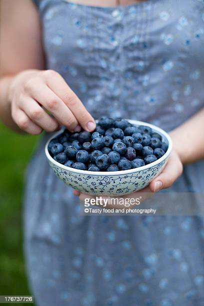 Blueberry in a bowl