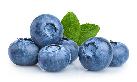 blueberry isolated on white background 853493518
