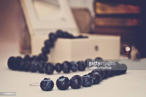 blueberry pearls - catherine macbride stock pictures, royalty-free photos & images