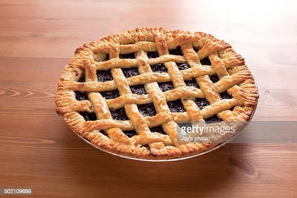 blueberry pie - 果肉 ストックフォトと画像
