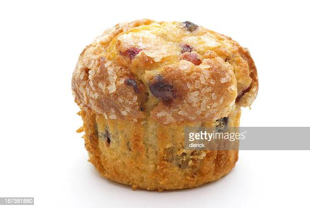 blueberry-cranberry muffin